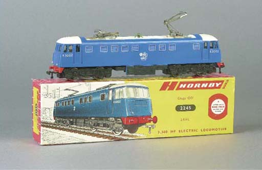 A Hornby Dublo two-rail 2245 E3002 Electric Locomotive