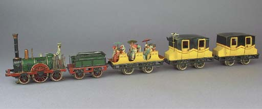 A Märklin 20 Volt electric AR12930/35/3 Der Adler Commemorative train set