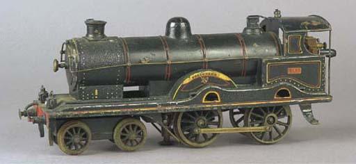 Märklin Gauge I electric 1021 LNWR 4-4-0 (2 B) Precursor Locomotive