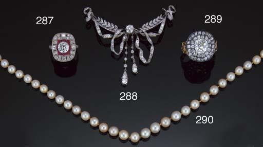 A French Belle Epoque diamond