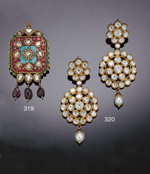 An Indian ruby, diamond, turqu