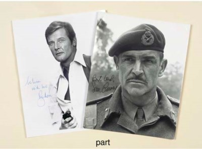 Sean Connery, Roger Moore And