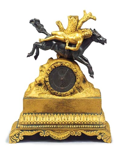 A Louis Philippe small ormolu