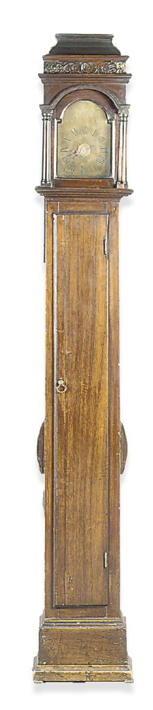 A GEORGE III OAK SMALL THIRTY-