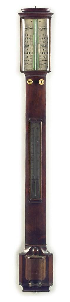 A Victorian mahogany bow-front