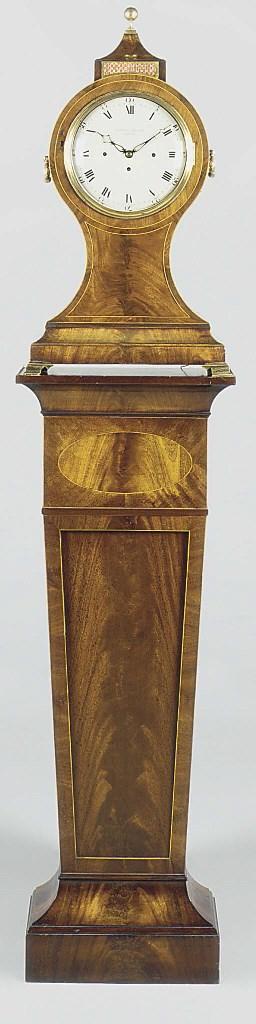 A George III large mahogany, s