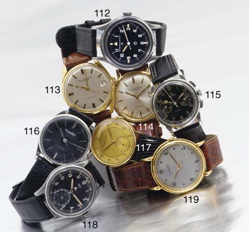 International Watch Co. An 18ct gold automatic calendar wristwatch
