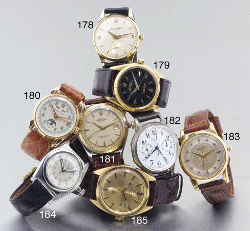 International Watch Co. An 18ct gold automatic and water resistant calendar wristwatch