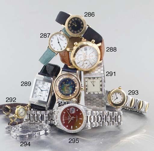 Rolex. An Impressive 18ct White Gold Automatic Centre Seconds Water Resistant Wristwatch with Diamond Set Bezel and Bracelet