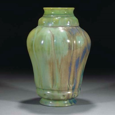 A CARTER & CO. LUSTRE VASE BY