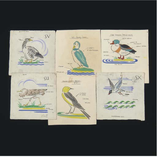 A Selection of Water Birds Pat
