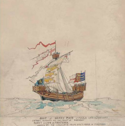 The Ship of Harry Paye, Poole,