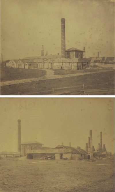 Two Early Photographs of the H