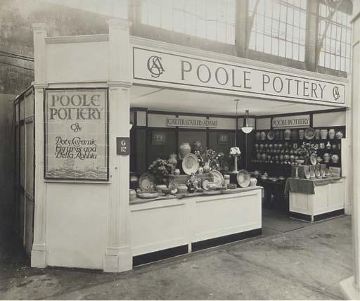 A Photograph of a Poole Potter