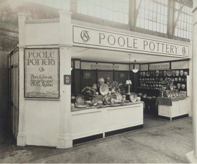 A Photograph of a Poole Potter