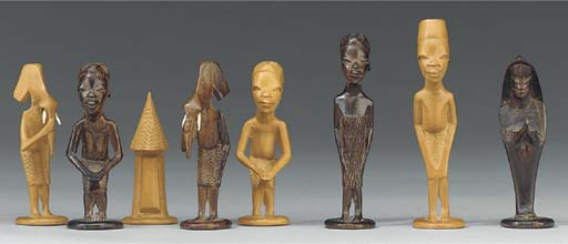 An East African carved soft wo