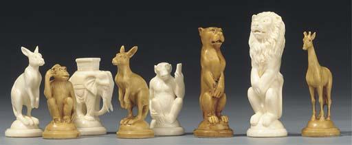 German carved ivory animalier