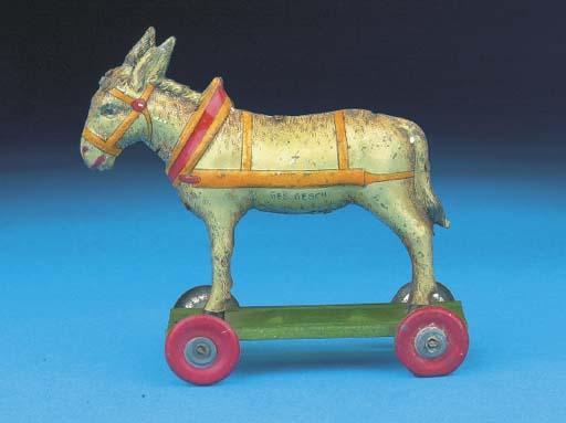 A Meier standing Donkey