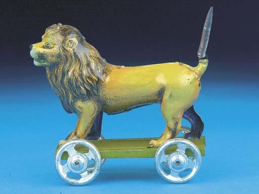 A Distler walking Lion