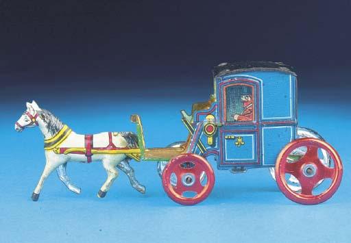 A Meier horse-drawn Closed Cab