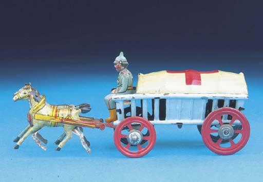 A Meier horse-drawn Ambulance