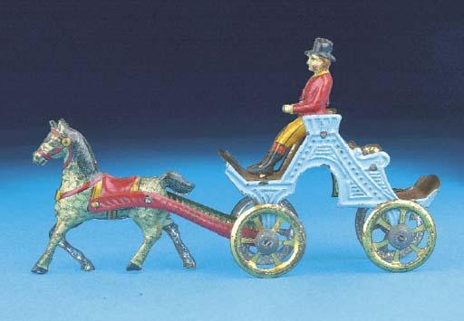 A rare Meier horse-drawn 'Dos