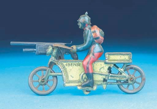 A Paya Military Motorcycle