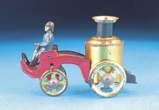 A Distler flywheel-drive Steam