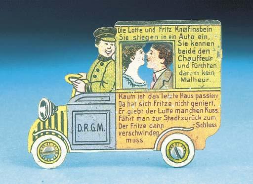 A German two-dimensional Comic