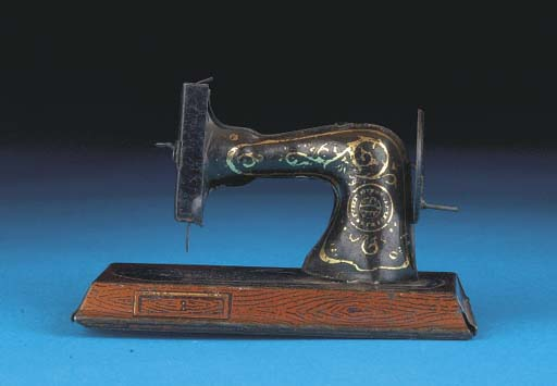 A German Table Sewing Machine