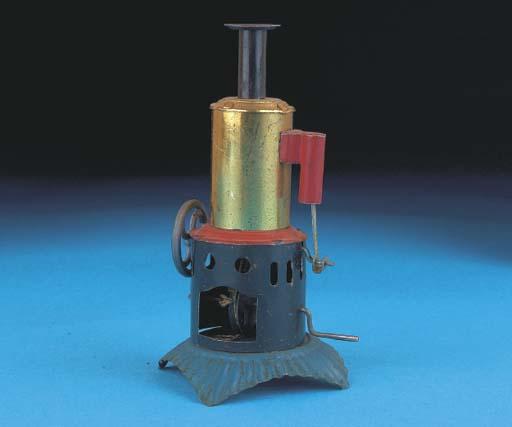 A Distler Vertical Steam Engin