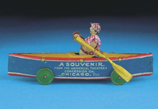 A Levy Promotional Rowing Boat