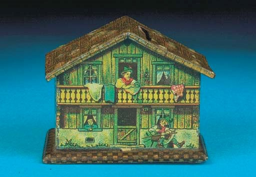 A German Chalet Savings Bank