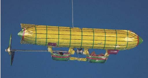 A Distler string-action Zeppel