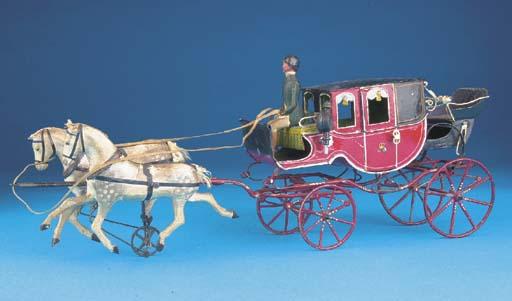An Eichner horsedrawn Carriage
