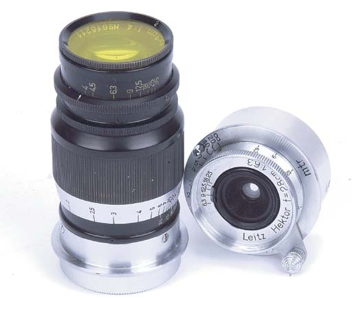 Hektor 2.8cm. f/6.3 no. 357317