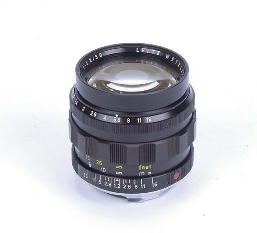 Noctilux f/1.2 50mm. no. 22545