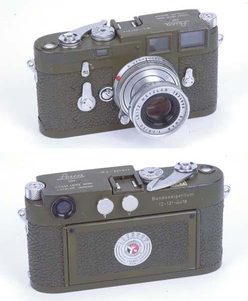 Leica M3 Bundeseigentum no. 92