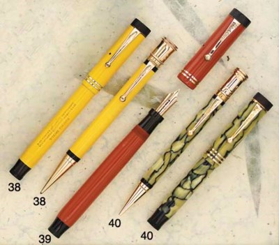 A PARKER DUOFOLD JUNIOR DELUXE