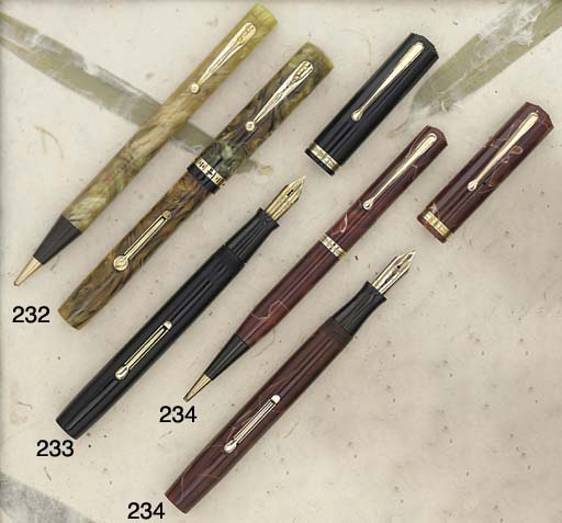 A WATERMAN'S 94 SET, Canadian,