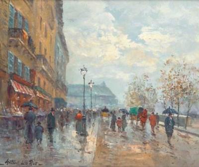 Antone La Rue (French, 20th Ce