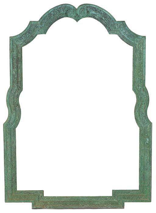 A large English bronze archite