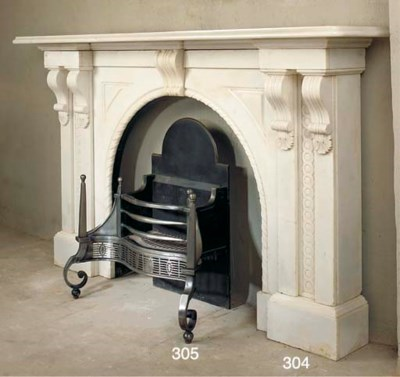 AN ENGLISH WROUGHT AND CAST IR