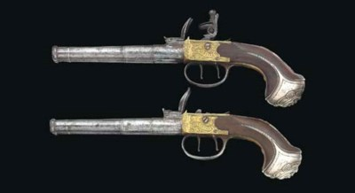 AN UNUSUAL PAIR OF 50-BORE SIL