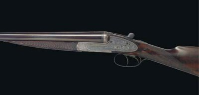 A 12-BORE SIDELOCK EJECTOR GUN