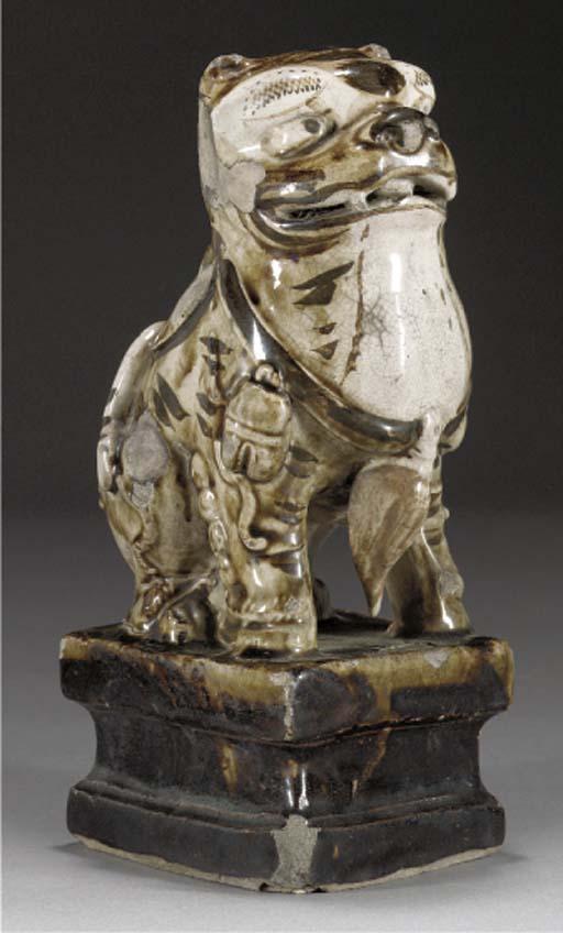 A cizhou model of a tiger, Min