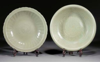 A Chinese celadon dish, Ming d