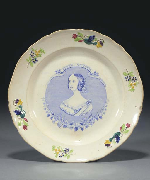 A commemorative Victorian plat