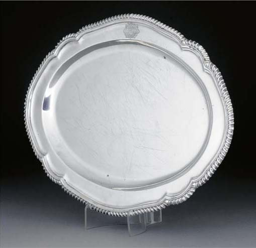 A George V Silver Meat Dish