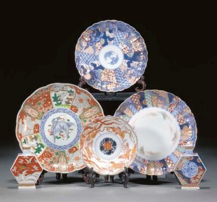 A selection of Fukugawa, Imari